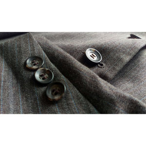 More photos -John Weitz pinstripe suit 48L 42x32